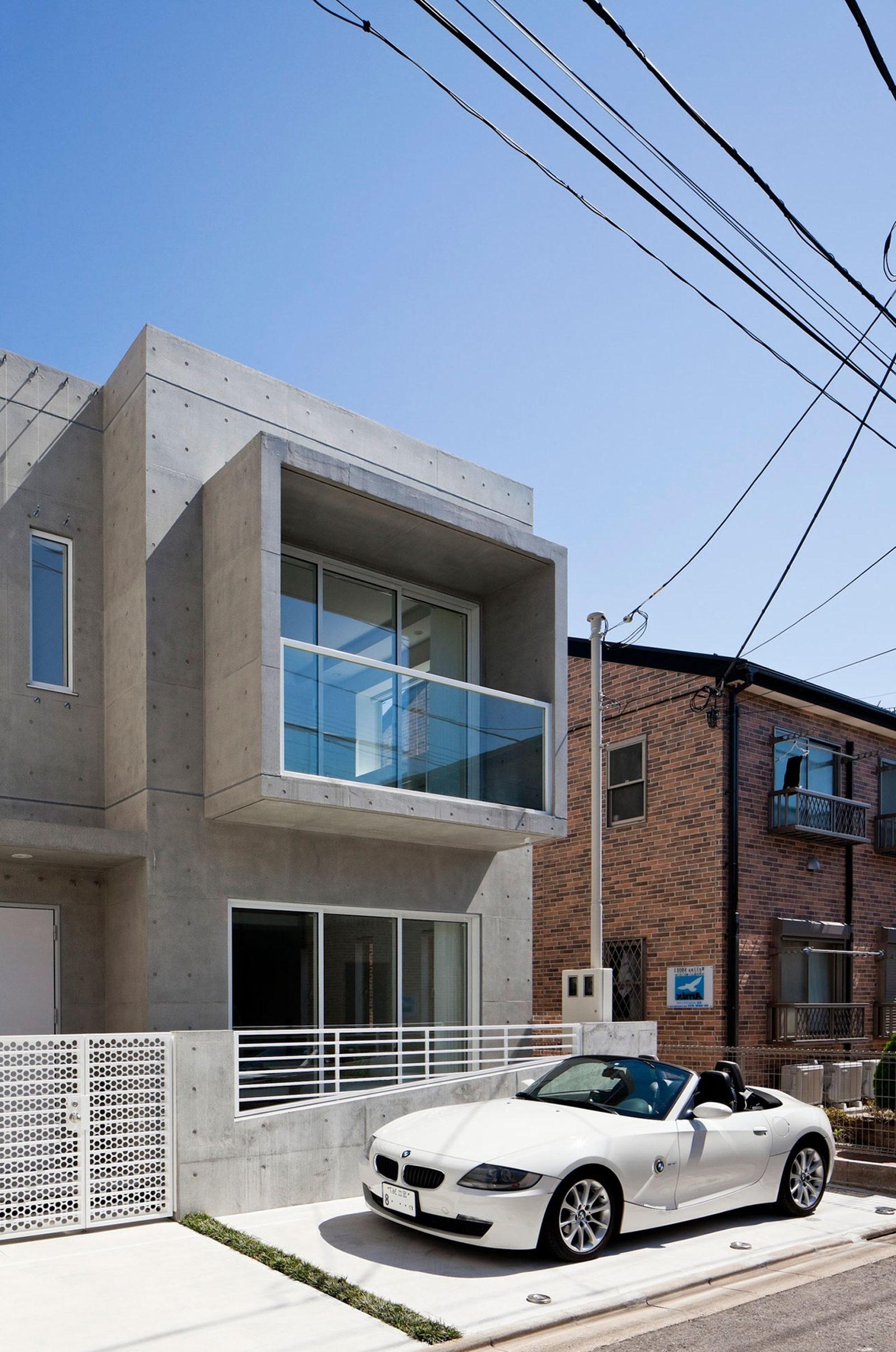 Design house car - Zen House From Rck Design Studio In Japan