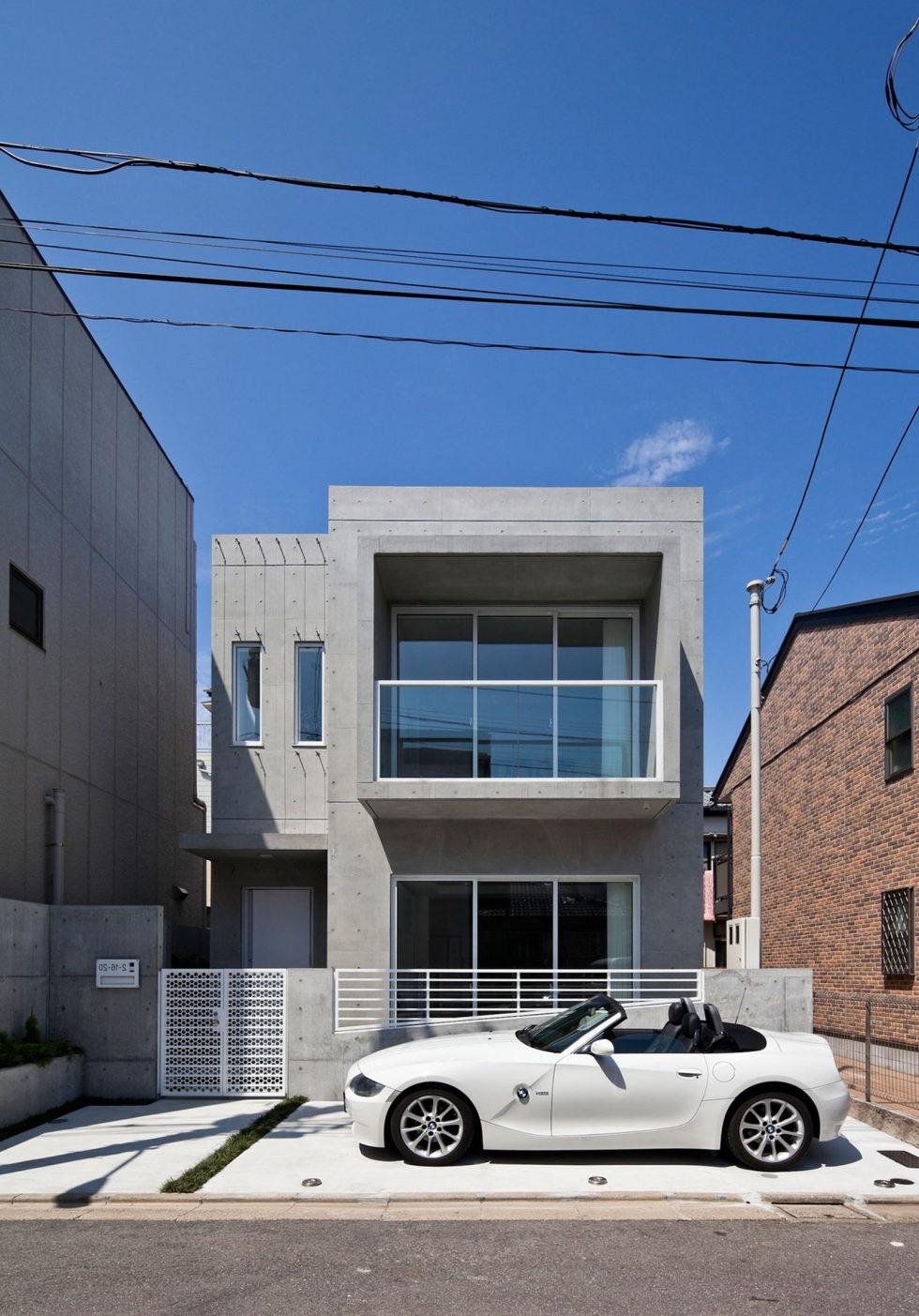Zen Design House From RCK Design Studio In Japan 2