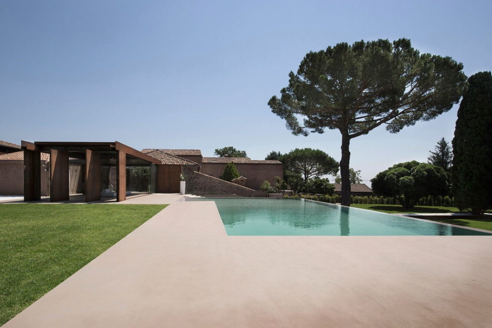 CRV Villa In Italy From ACA Amore Campione Architettura 7