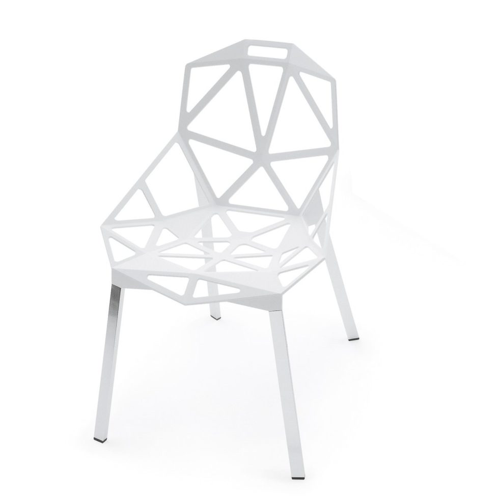 Chair One Stacking Chair by Magis - White