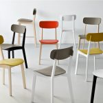 The Feature Of Modern Kitchen Is Chairs