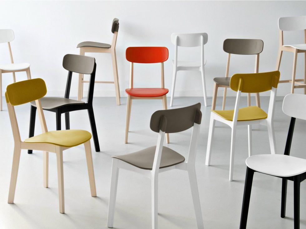 Cream Chair Calligaris