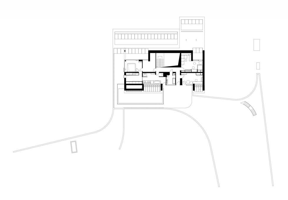 Edge House In Krakow From Mobius Architects Studio - plan 1