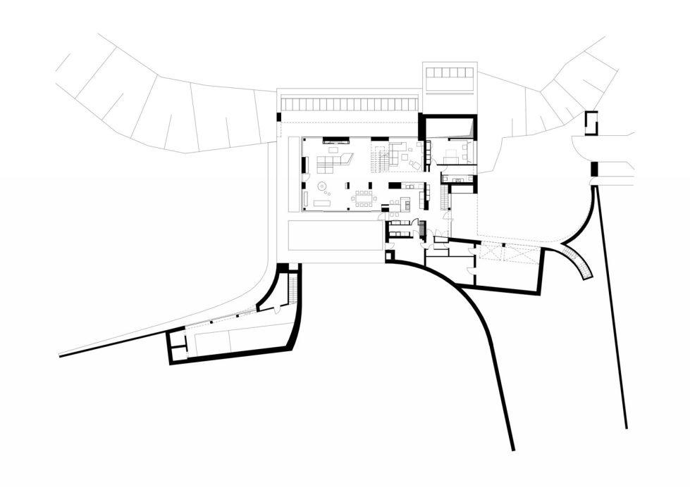 Edge House In Krakow From Mobius Architects Studio - plan 2
