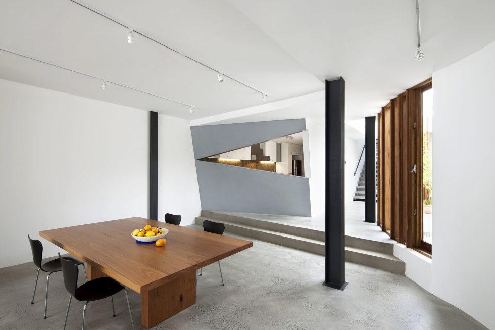 Gallery House From Australian Bureau Nervegna Reed Architecture 5
