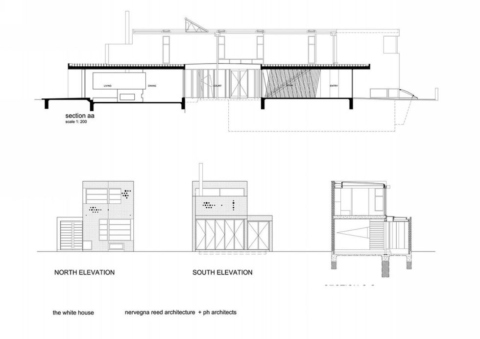 Gallery House From Australian Bureau Nervegna Reed Architecture - Plan 3