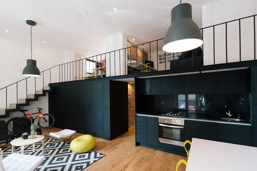 Gorgeous Loft Apartment From Cadaval and Sola Morales Studio 1