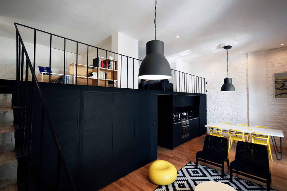 Gorgeous Loft Apartment From Cadaval and Sola Morales Studio 3