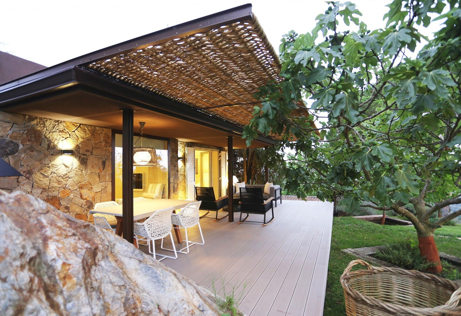 house in mountains from dom arquitectura studio