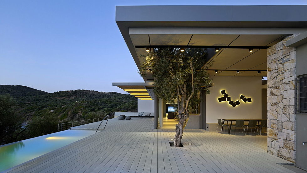 Luxurious Residency Upon The Project Of Z-level Studio On The Shore Of Aegean Sea 1