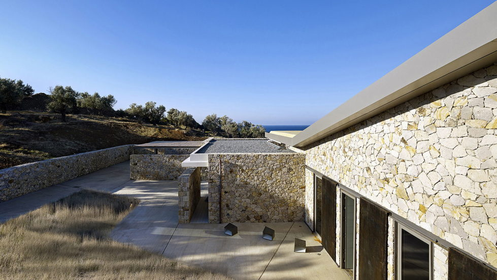 Luxurious Residency Upon The Project Of Z-level Studio On The Shore Of Aegean Sea 11