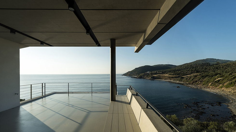Luxurious Residency Upon The Project Of Z-level Studio On The Shore Of Aegean Sea 13