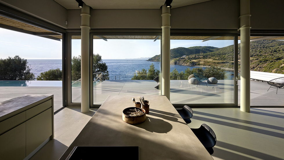 Luxurious Residency Upon The Project Of Z-level Studio On The Shore Of Aegean Sea 14