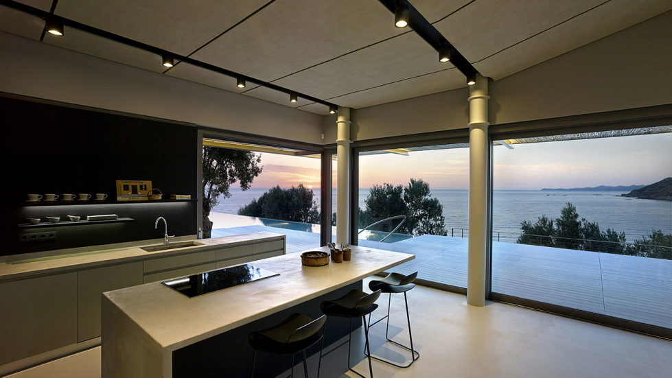 Luxurious Residency Upon The Project Of Z-level Studio On The Shore Of Aegean Sea 18