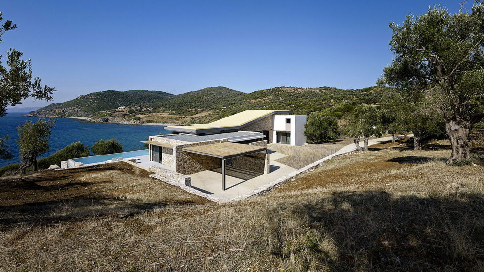 Luxurious Residency Upon The Project Of Z-level Studio On The Shore Of Aegean Sea 2