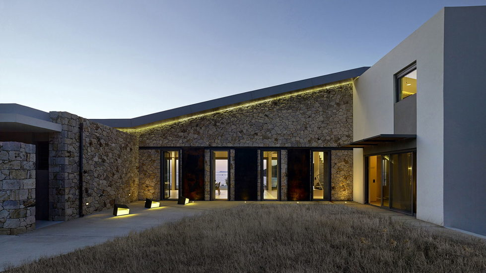 Luxurious Residency Upon The Project Of Z-level Studio On The Shore Of Aegean Sea 20