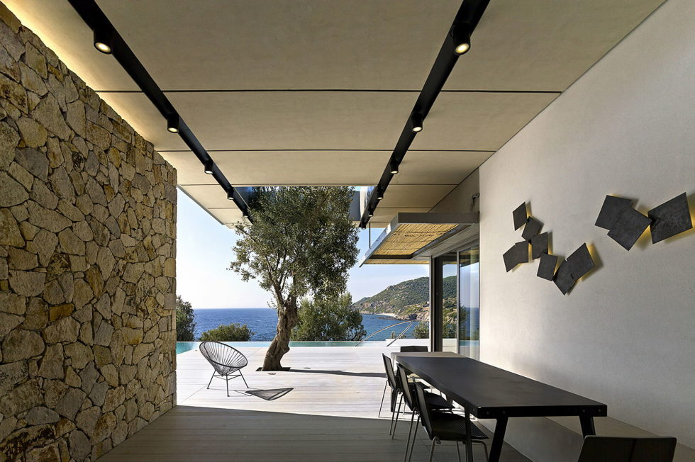 Luxurious Residency Upon The Project Of Z-level Studio On The Shore Of Aegean Sea 24