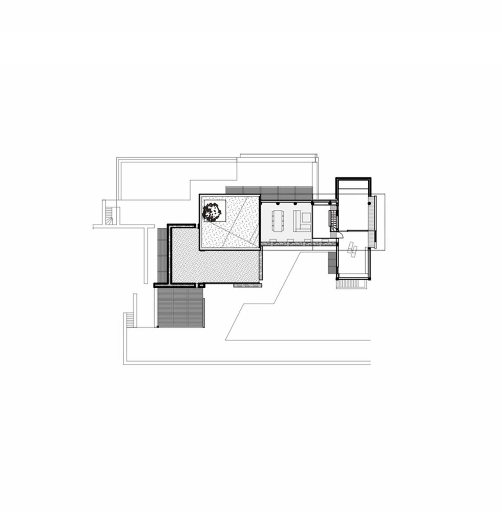 Luxurious Residency Upon The Project Of Z-level Studio On The Shore Of Aegean Sea - First Floor Plan House 1