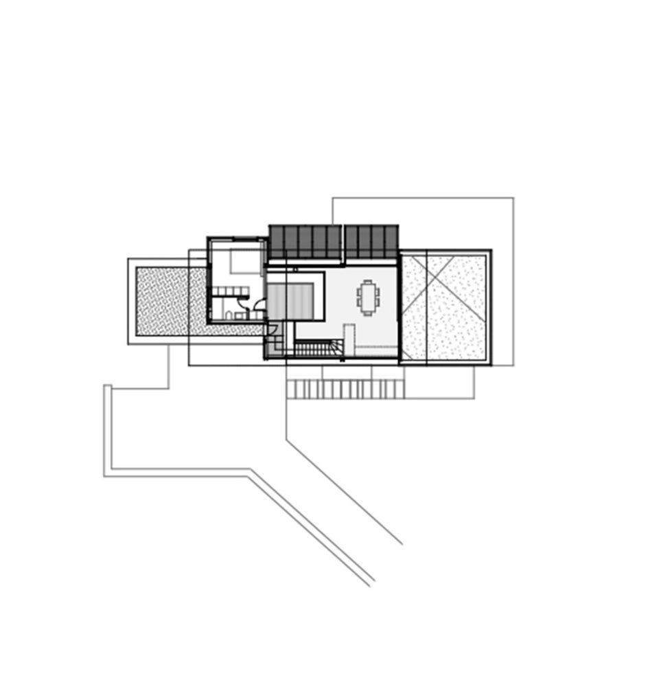 Luxurious Residency Upon The Project Of Z-level Studio On The Shore Of Aegean Sea - First Floor Plan House 2