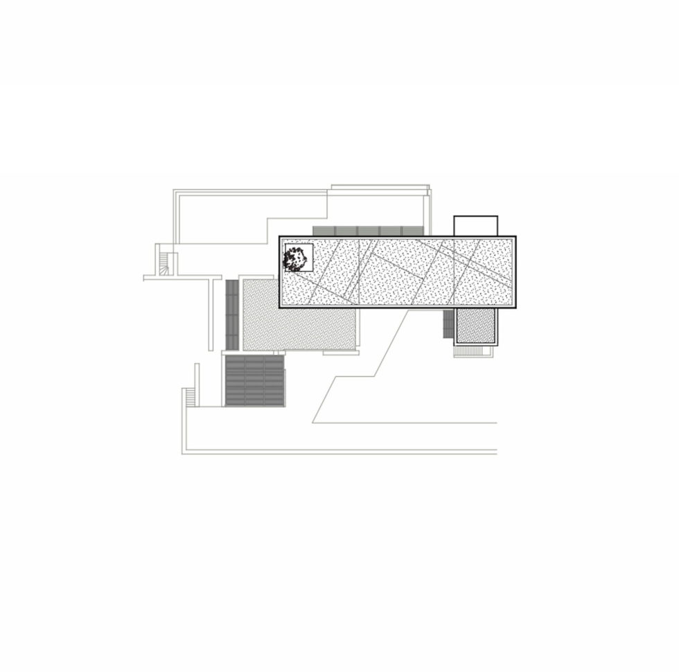 Luxurious Residency Upon The Project Of Z-level Studio On The Shore Of Aegean Sea - Roof Plan House 1