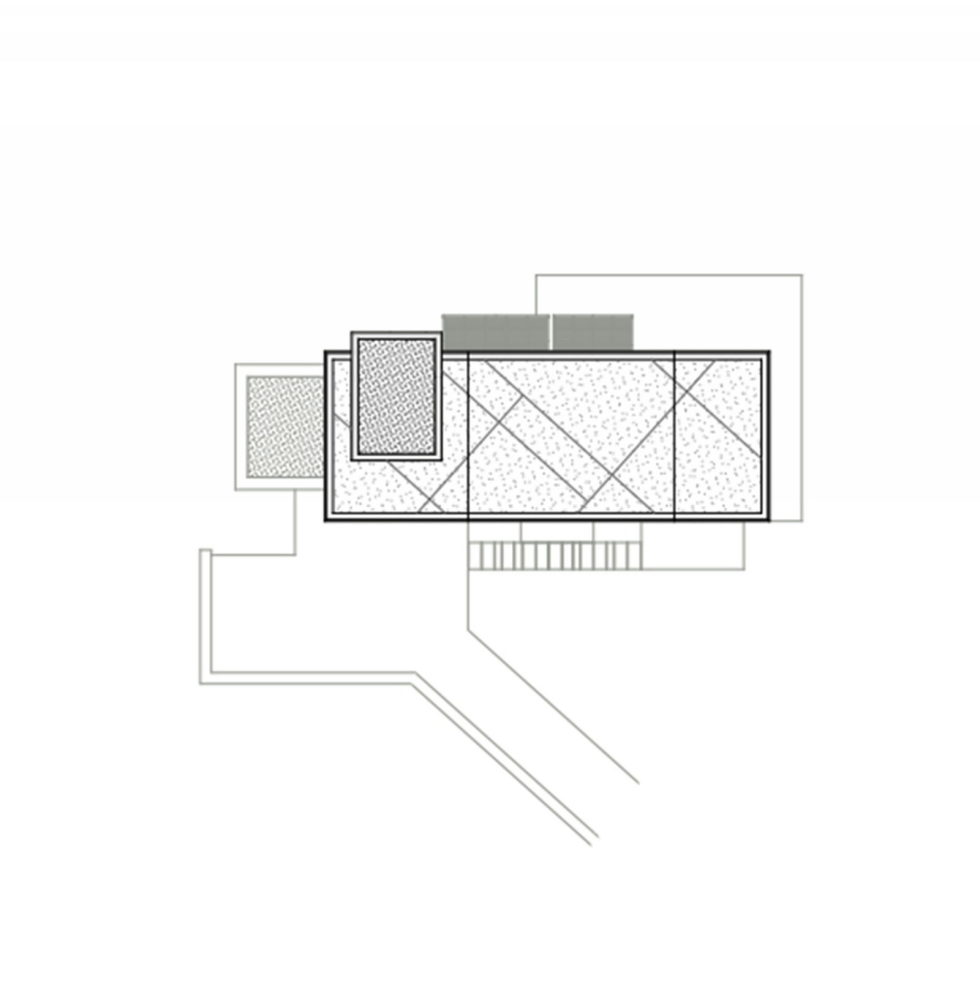 Luxurious Residency Upon The Project Of Z-level Studio On The Shore Of Aegean Sea - Roof Plan House 2