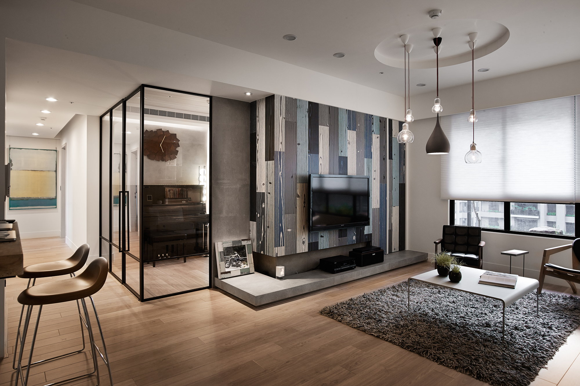Modern Apartment In European Style In Taiwan From Fertility Design