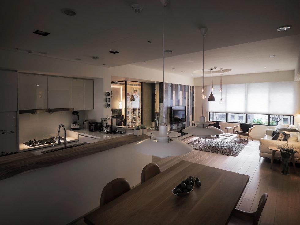 Modern Apartment In European Style In Taiwan From Fertility Design Studio 10