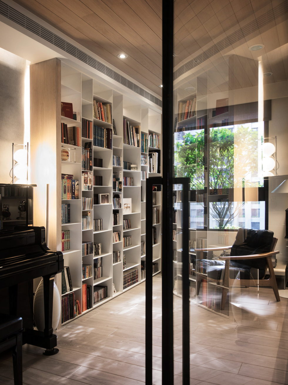 Modern Apartment In European Style In Taiwan From Fertility Design Studio 13