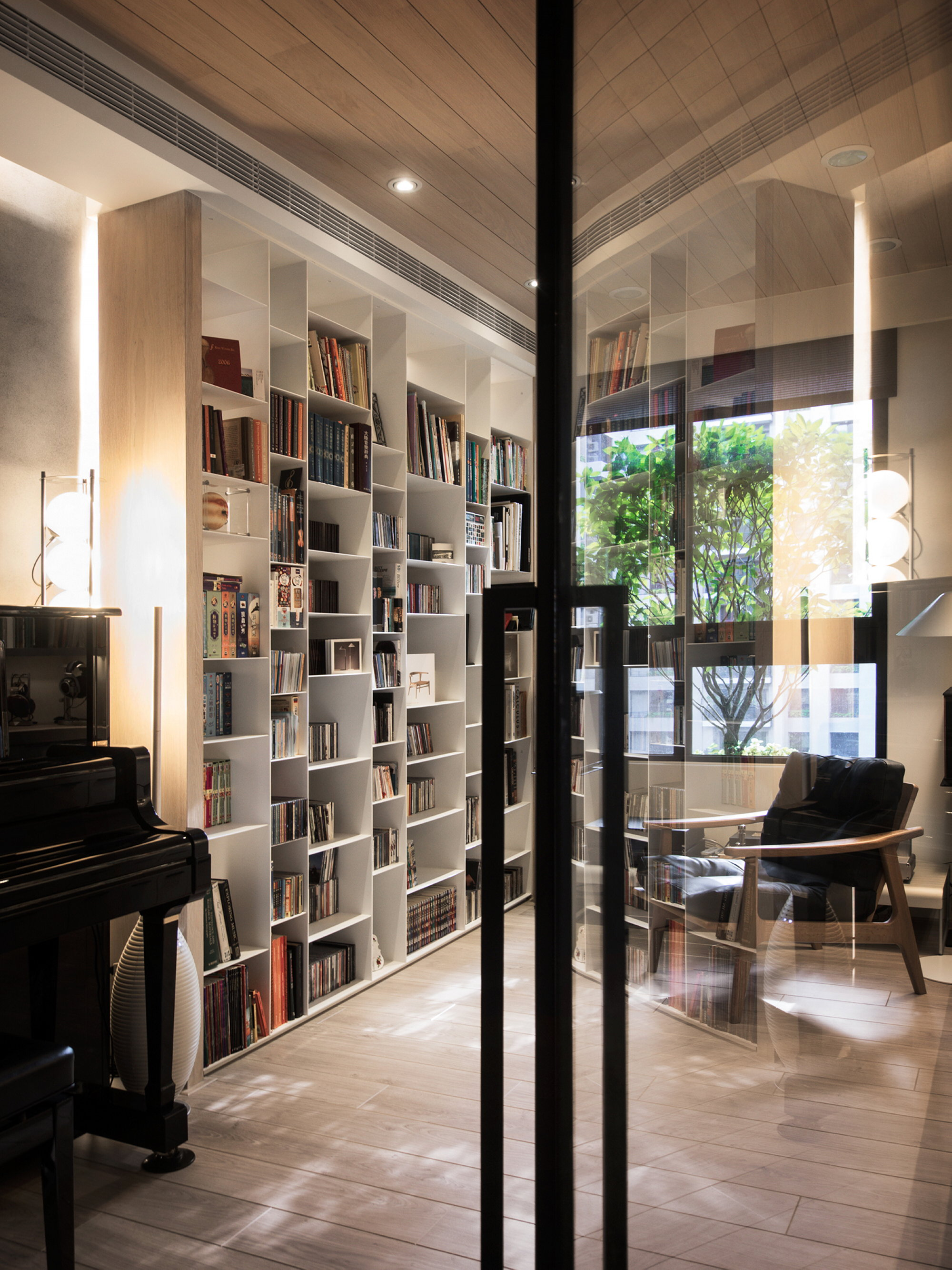 Reading Room Design Ideas: Modern Apartment In European Style In Taiwan From