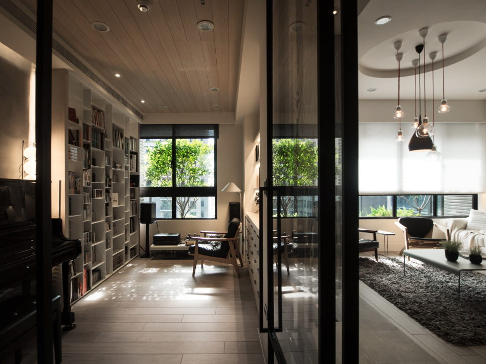 Modern Apartment In European Style In Taiwan From Fertility Design Studio 14