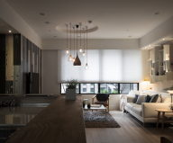 Modern Apartment In European Style In Taiwan From Fertility Design Studio