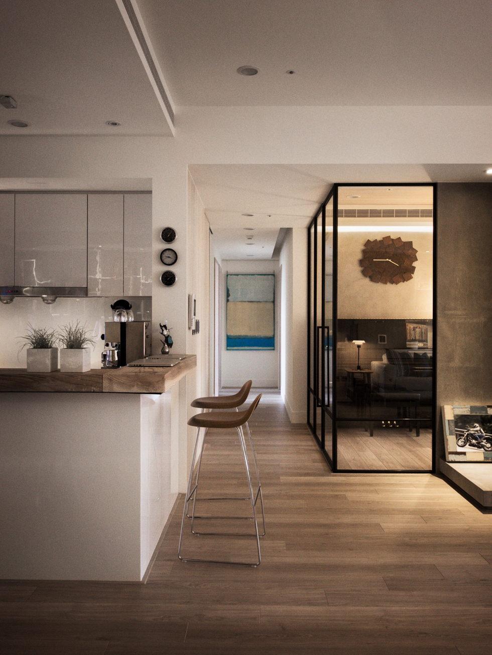 Modern Apartment In European Style In Taiwan From Fertility Design Studio 6