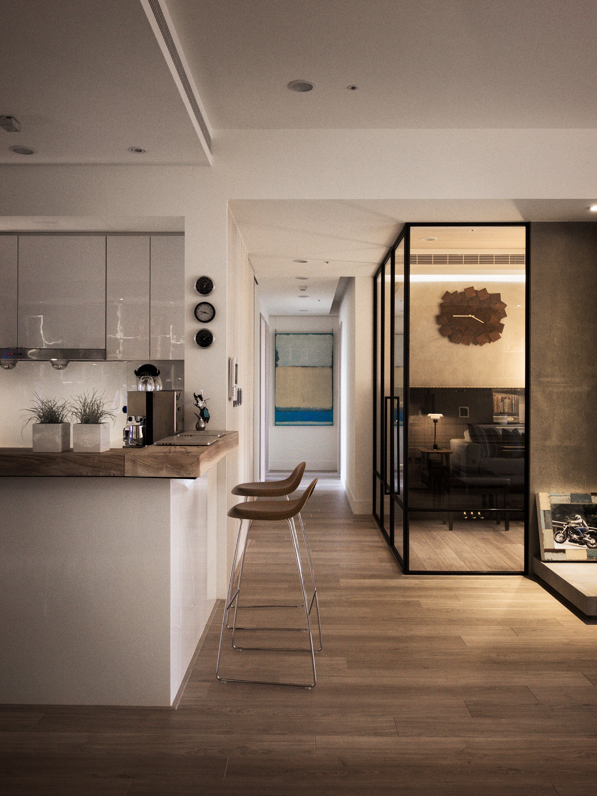 Modern Apartment In European Style In Taiwan From Fertility Design Studio & Modern Apartment In European Style In Taiwan From Fertility Design ...