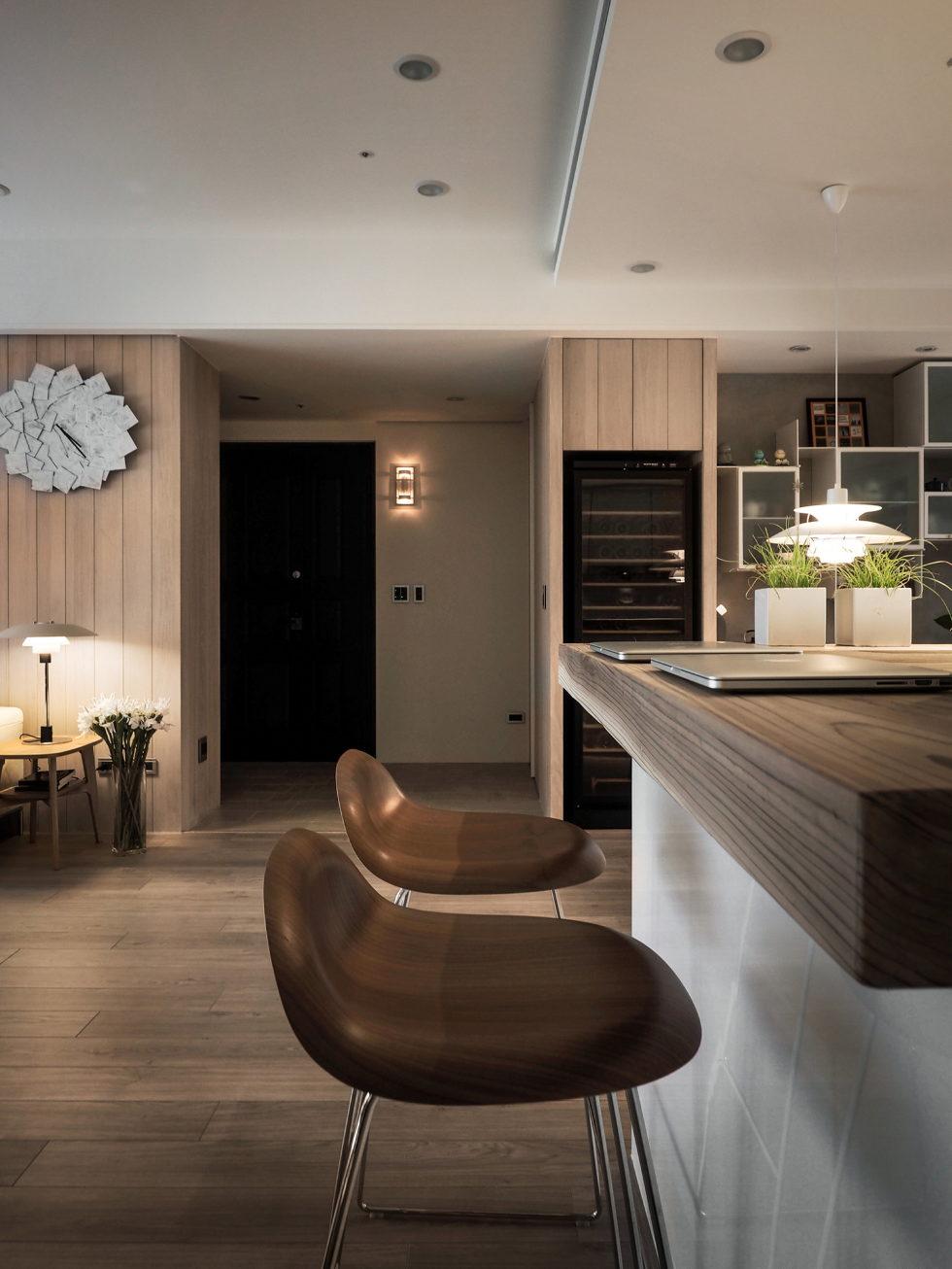 Modern Apartment In European Style In Taiwan From Fertility Design Studio 7