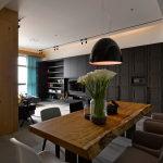 ModernThree RoomApartmentFromGannaDesignStudioInTaipei,Taiwan
