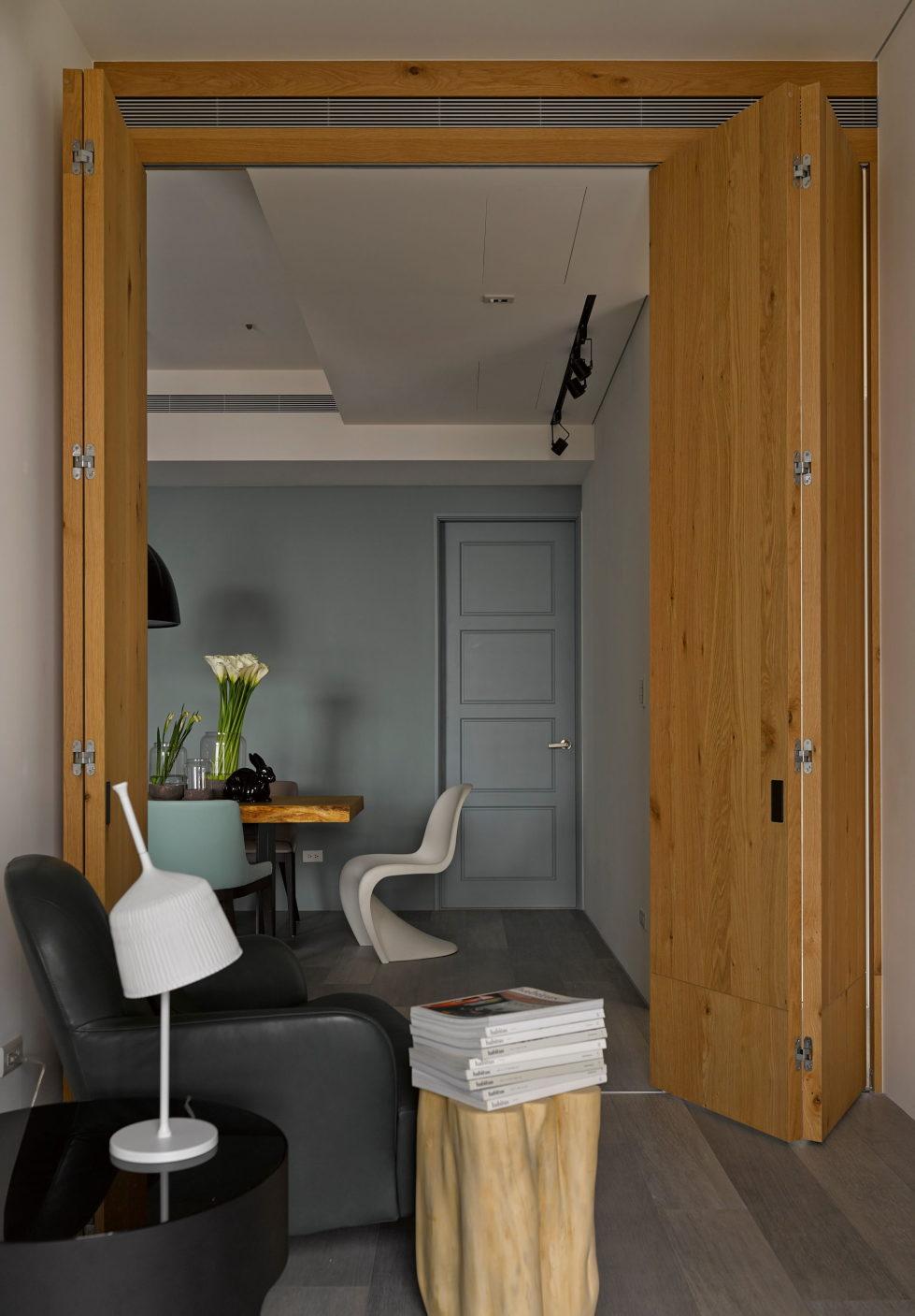 Modern Three-Room Apartment From Ganna Design Studio In Taipei, Taiwan 11