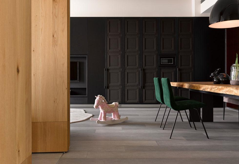 Modern Three-Room Apartment From Ganna Design Studio In Taipei, Taiwan 4