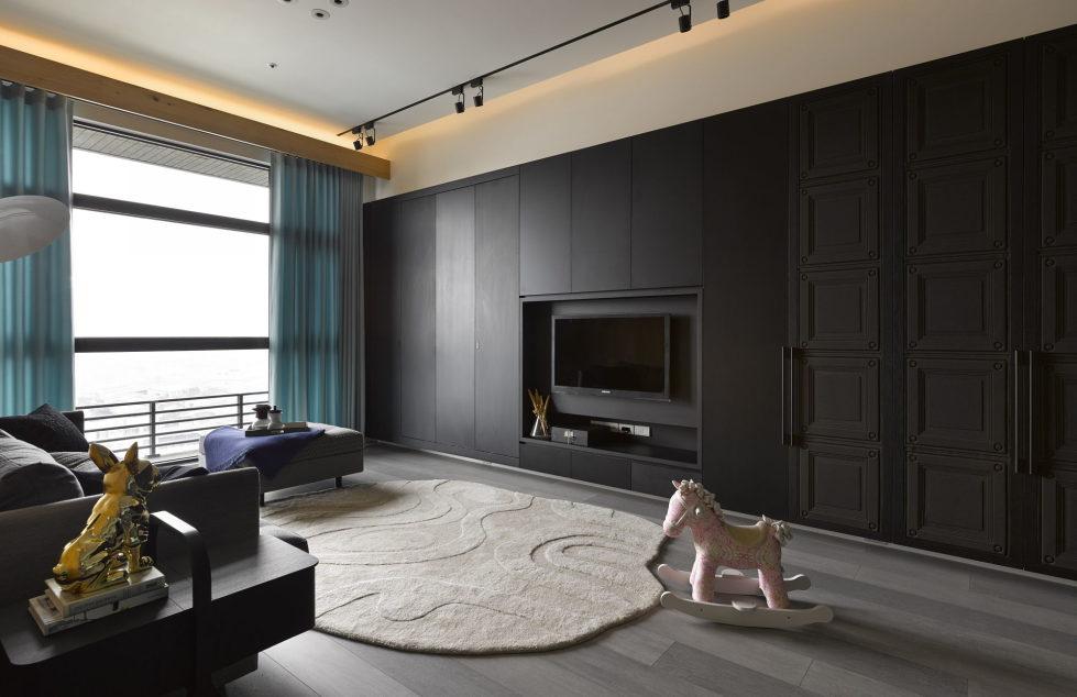 Modern Three-Room Apartment From Ganna Design Studio In Taipei, Taiwan 5