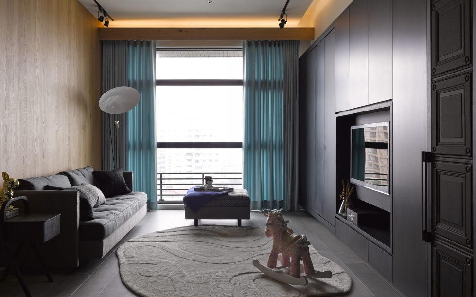 Modern Three-Room Apartment From Ganna Design Studio In Taipei, Taiwan 6
