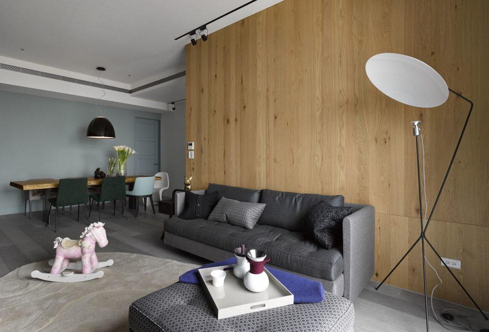 Modern Three-Room Apartment From Ganna Design Studio In Taipei, Taiwan 9