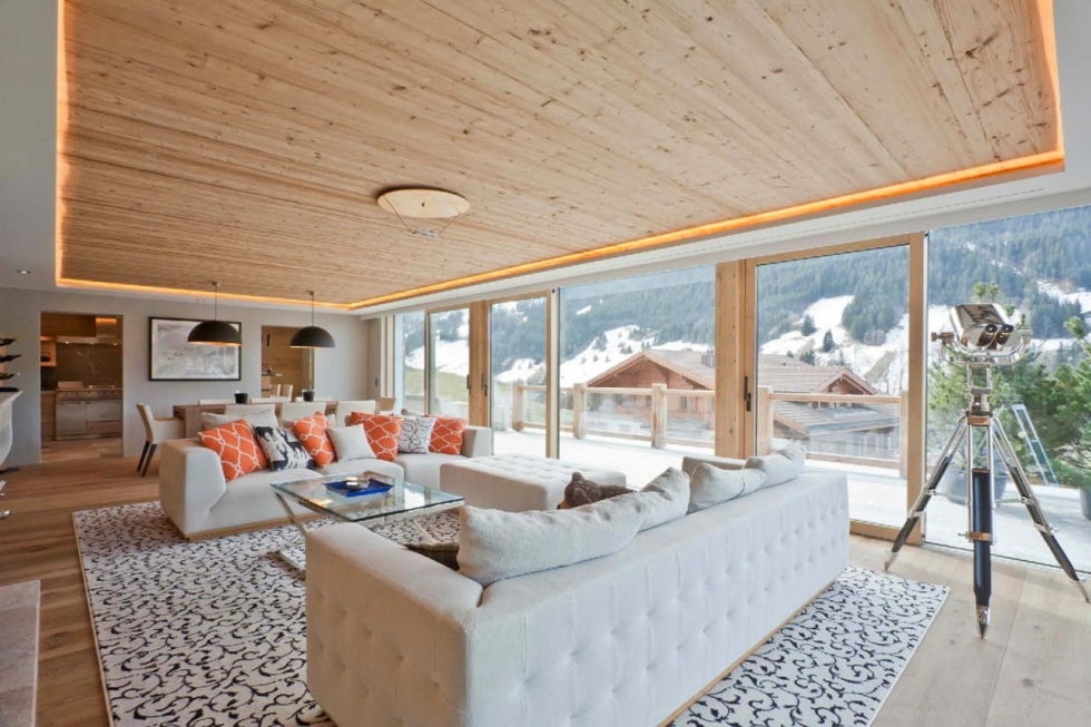 Residences for holidays in Swiss ski resort of Rougemont 1