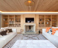 Residences for holidays in Swiss ski resort of Rougemont.