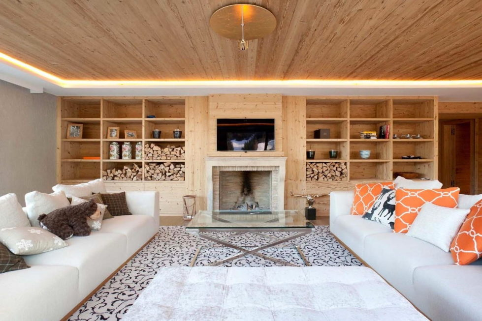 Residences for holidays in Swiss ski resort of Rougemont 2