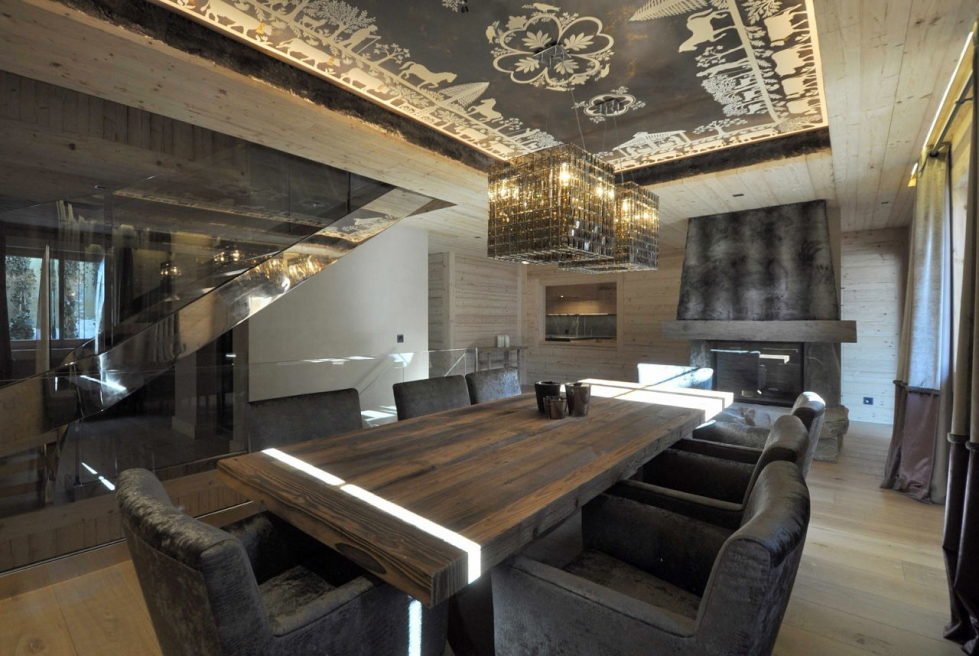 Residences for holidays in Swiss ski resort of Rougemont 4