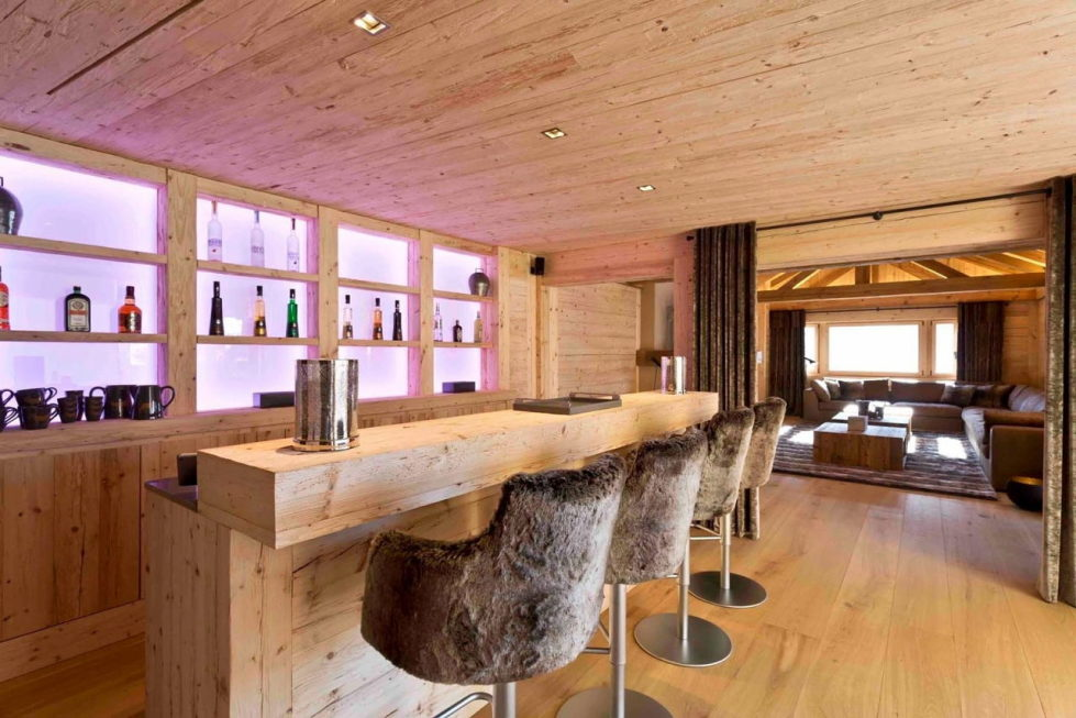 Residences for holidays in Swiss ski resort of Rougemont 5