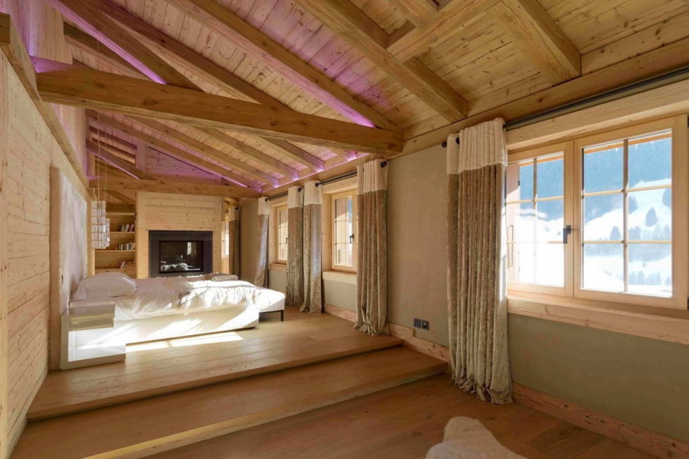 Residences for holidays in Swiss ski resort of Rougemont 6