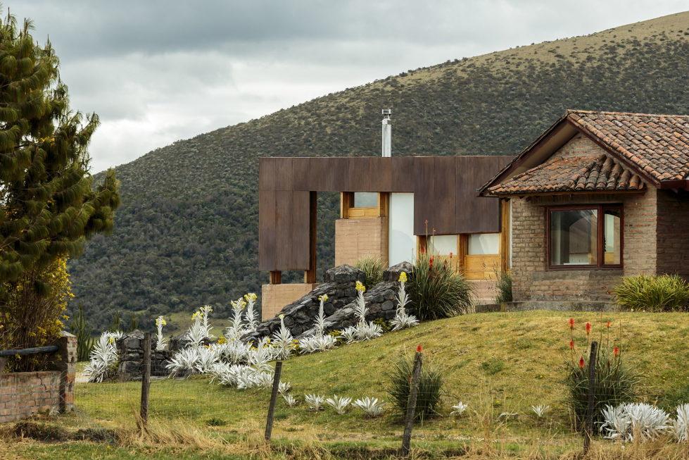 Rumilahua House Villa Among Volcanos In Ecuador, From Emilio Lopez Herrera и Luis Lopez 6