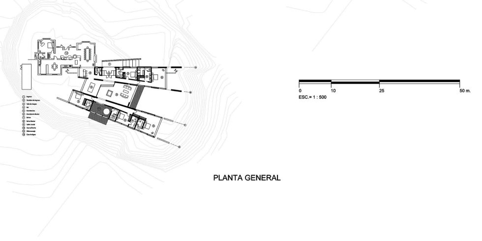 Rumilahua House Villa Among Volcanos In Ecuador, From Emilio Lopez Herrera и Luis Lopez - Plan
