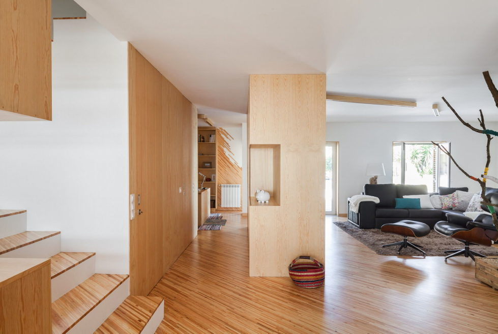 SilverWoodHouse Project In Portugal From 3r Ernesto Pereira Studio 9