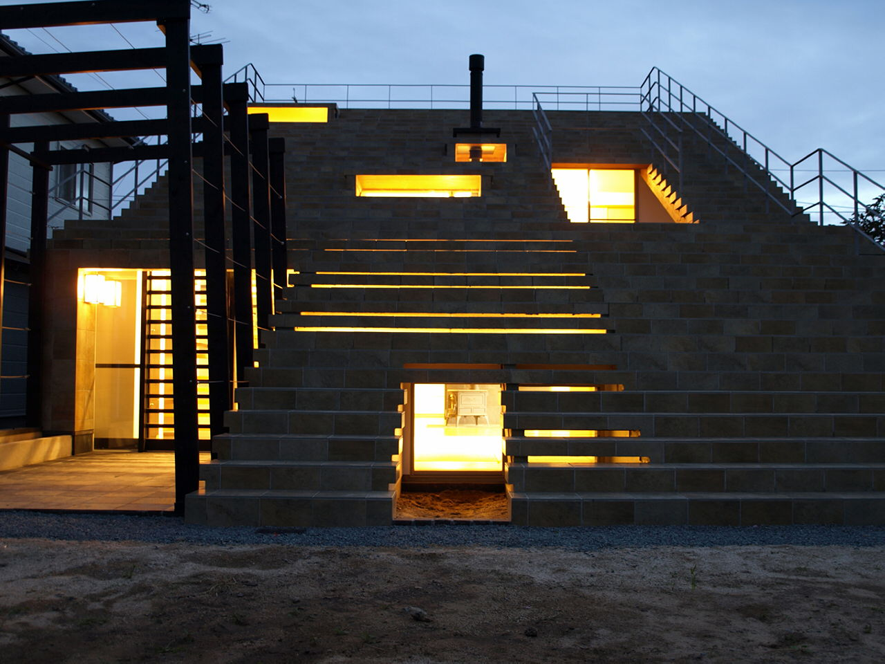 Home Design: The Stair House In Japan From Y+M Design Office